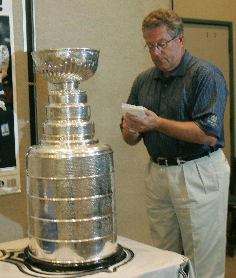Interviewing the Stanley Cup