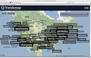 "TrendsMap: ""Real-Time Local Twitter Trends"""