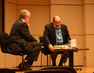 Owen Youngman, Umberto Eco, Printers Row Book Fair