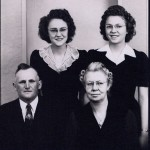 The Ottoson family, late 1940's