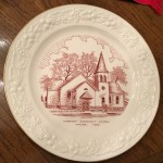 Wausa Mission Covenant Church commemorative plate