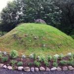 Reputed durial mound of Skalla-Grímr Kveldulfsson, Borgarnes, Iceland