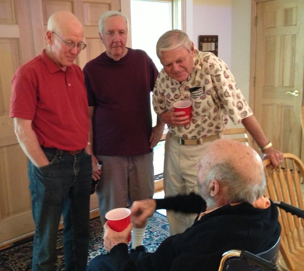 Don Pierson, Steve Mauzer, Roy Damer, Bob Markus