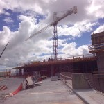 Construction at Northwestern 9/13/2013
