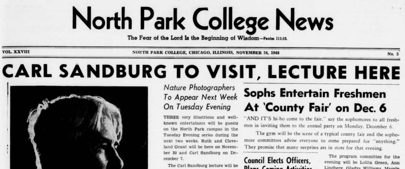North Park College News 11/24/1948